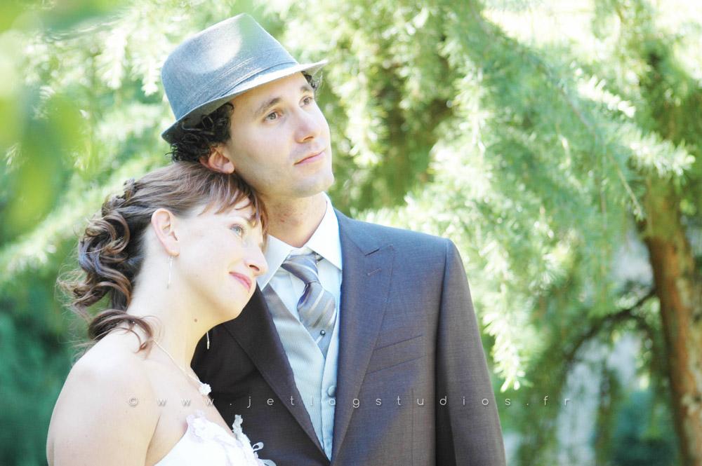 Photos de mariage décalées – Mariage dans la Loire – Francoise et Florian