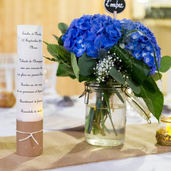 decoration-table-bleu