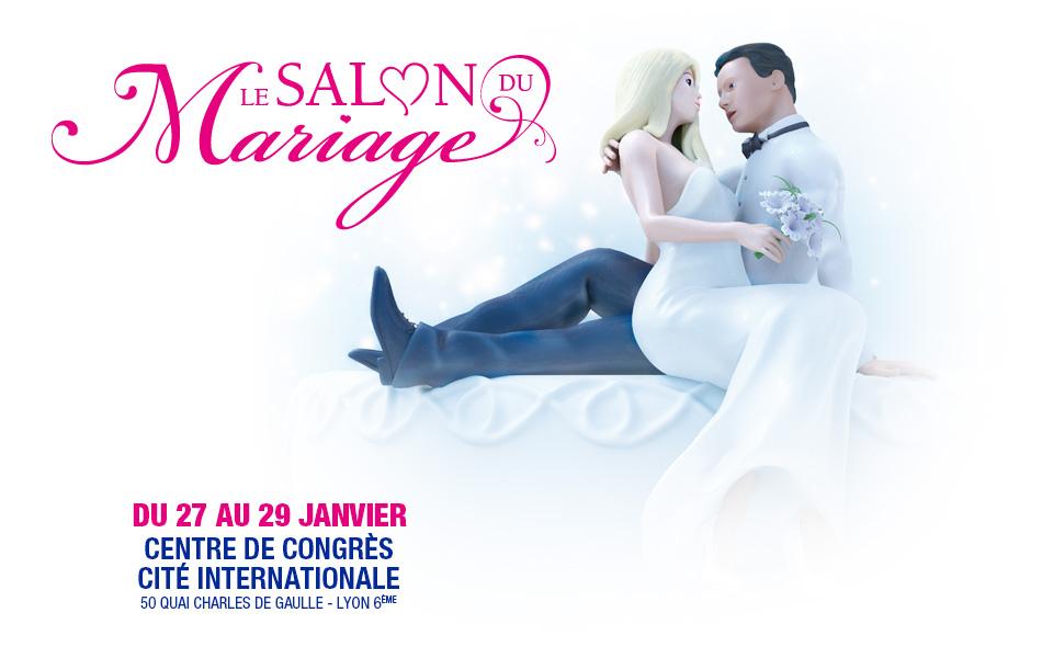 Salon du mariage de Lyon les 27, 28 et 29 Janvier 2017