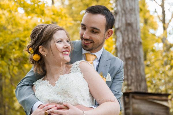 Mariage de Morgane et Thomas à Sainte Croix